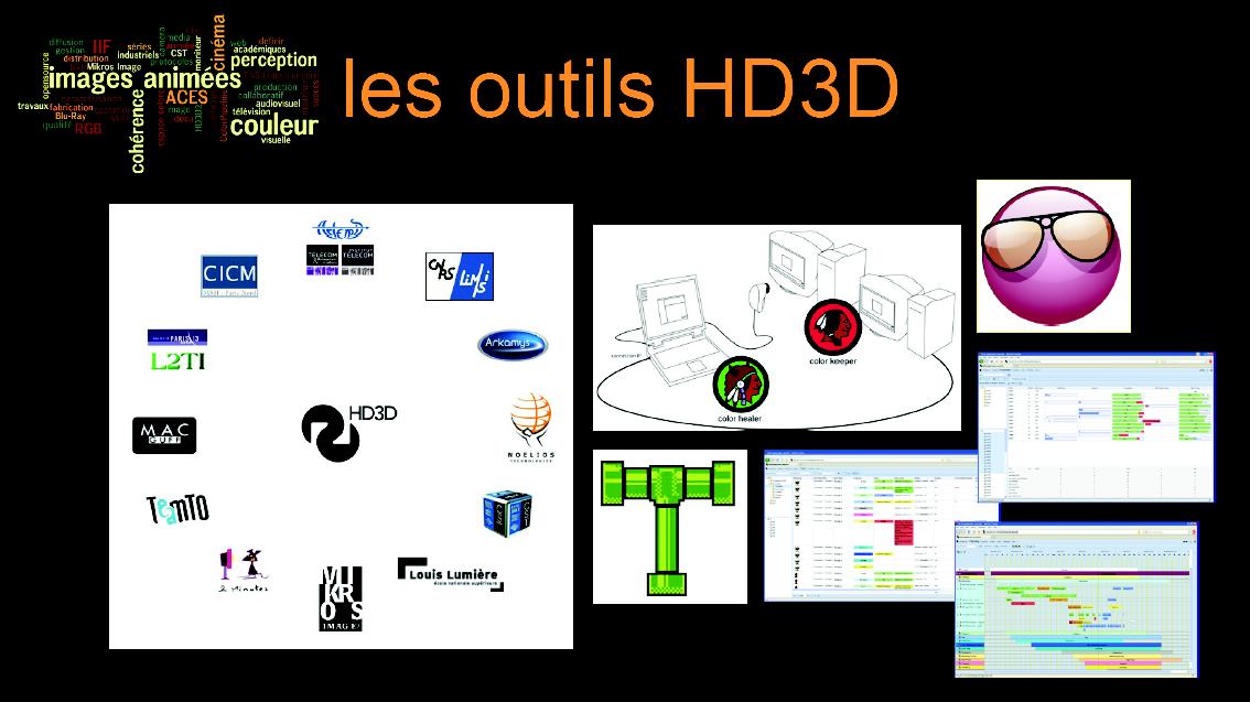 [Conf] Les outils d'HD3D associés
