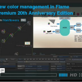 New color pipeline in Flame